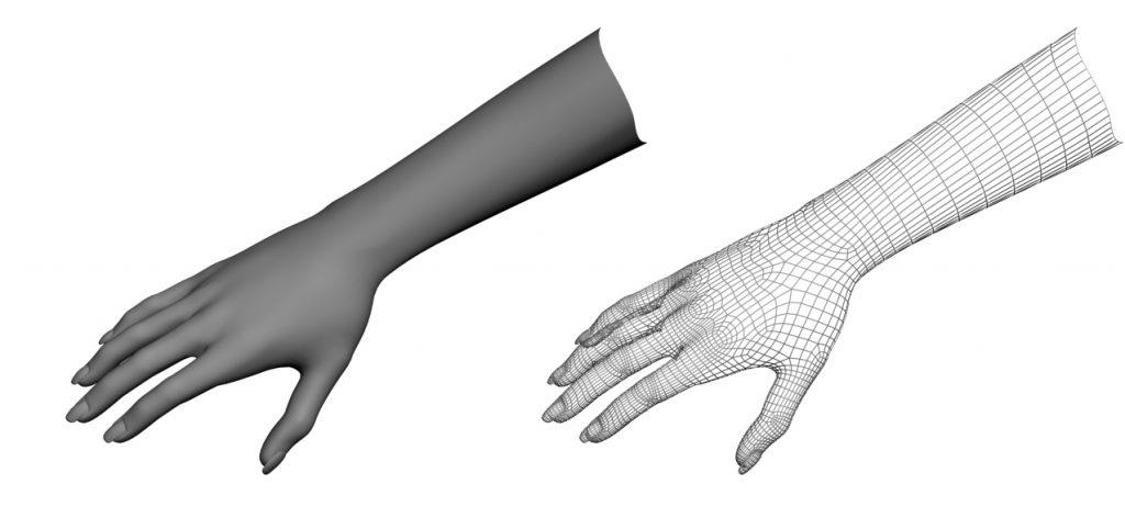 Eksempel på 3D-modell