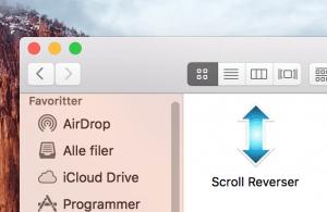 Scroll Reverser-programmet