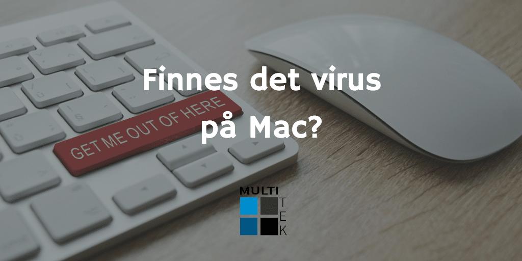 Finnes det virus på Mac?