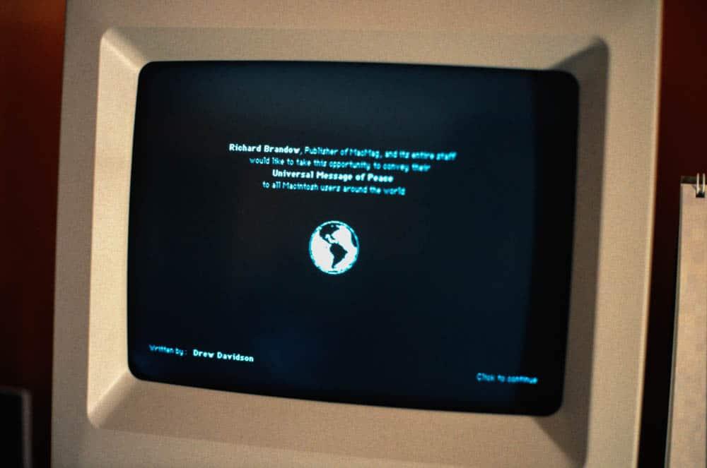 Et eksempel på et gammelt virus på Mac