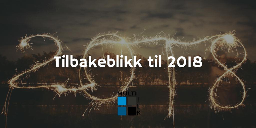 Tilbakeblikk til 2018