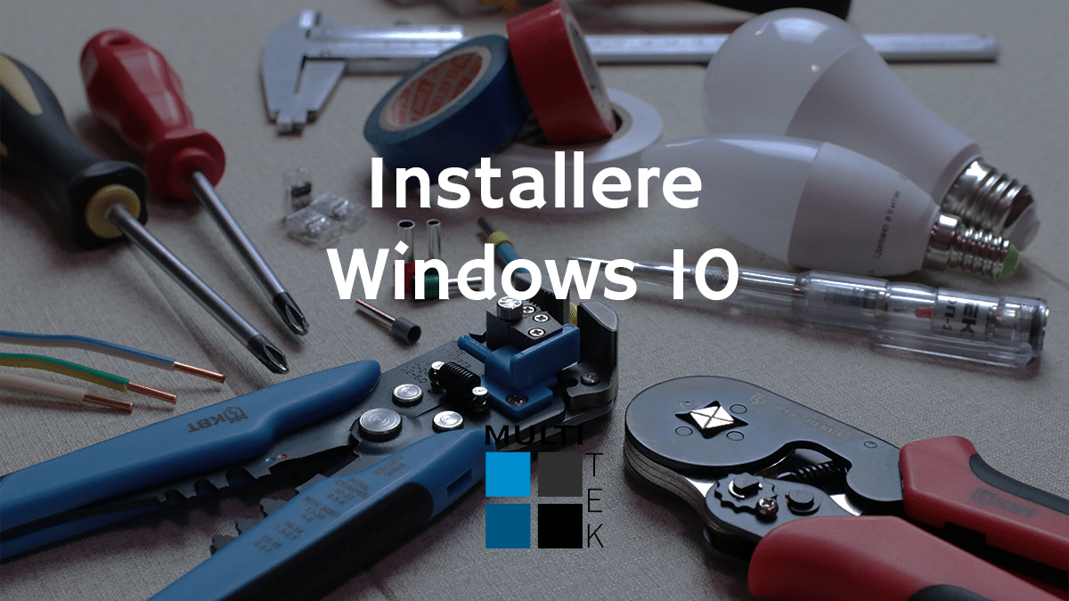 Installere Windows 10