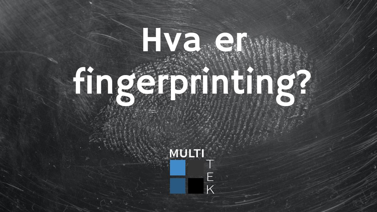 Hva er fingerprinting?